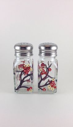 SOLD!  A personal favorite from my Etsy shop https://www.etsy.com/listing/220731556/salt-and-pepper-shaker-set-with-hand