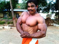 Mr.INDIA Kamraj. Kamaraj is an army bodybuilder .He has participated in many internationals events. He is mr india 2007  #mrindia #bodybuilder #bfz