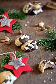Marzipan Mandel Plätzchen für die schnelle Weihnachtsbäckerei