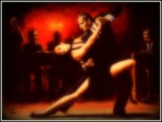 Argentina to watch a passionate dance-Tango!