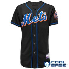 New York Mets Authentic Alternate 3 Jersey