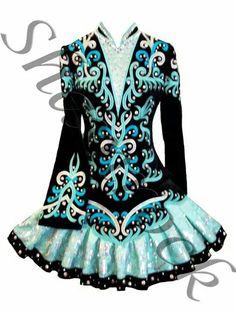 Shamrock Stitchery Irish Dance Solo Dress Costume - Beautiful