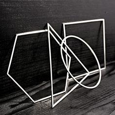 Geometric bangles - Alex and Chloe