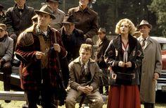 """""""This Boy's Life"""", Robert De Niro, Leonardo DiCaprio, Ellen Barkin, 1993."""
