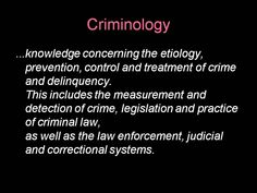 Criminology Basics is a great match if you are on the lookout for educated insight into crime control, the criminal mindset, police related controversies, due process, life inside our prison systems and rehabilitating criminals. Criminal Justice Major, Criminal Law, Criminal Justice System, Criminal Minds, Forensic Psychology, Forensic Science, Social Science, Life Science, Computer Science