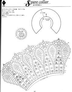 ISSUU - crochet collar by Boon Lim
