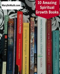 Here are ten eclectic books that changed my life with Jesus.