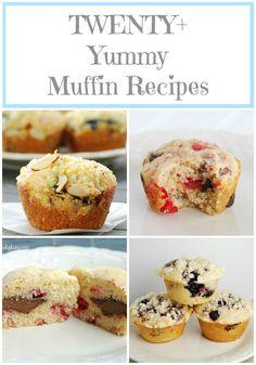 Over Twenty Awesome Muffin Recipes via @creationsbykara.com