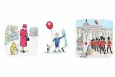 To honour Winnie-the-Pooh and Queen Elizabeth II both celebrating their 90th birthdays this year, a special edition new story, written by Jane Riordan and illustrated in the classic EH Shepard style, is released. In Winnie-the-Pooh and the Royal Birthday, the beloved fictional bear and his friends travel to Buckingham Palace to give the Queen a present, meeting Prince George along the way.