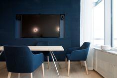 Interior design by Sistem Interior Architects. Office Interior Design, Office Interiors, Room Interior, Interior Architects, Flat Screen, Projects, Blood Plasma, Log Projects, Blue Prints