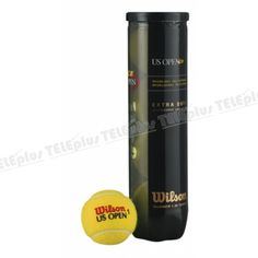 Wilson Us Open 4lü Tenis Topu - 1978 yılından bu yana dünyanın en zor turnuvasının resmi topudur.  Tüm kort zeminlerinde daha uzun süreli kullanım için uygundur.  Kod: WRT 116200 - Price : TL27.00. Buy now at http://www.teleplus.com.tr/index.php/wilson-us-open-4lu-tenis-topu.html