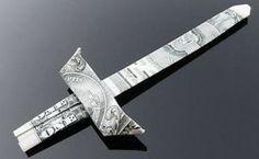 Sword Dollar Origami
