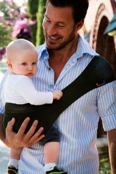 Daddy and baby with SUPPORi!