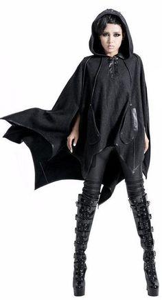 Malkavian Bat Wings Cape by Punk Rave