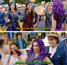 Disney Descendants Movie, Descendants Characters, Descendants Cast, Funny Disney Memes, Disney Cartoons, Funny Memes, Disney Shows, Cameron Boyce, Disney Dream