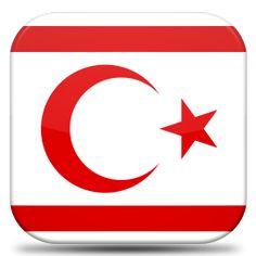 Bandeira Republica Turca de Chipre do Norte