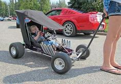 Baby Gearhead dragster