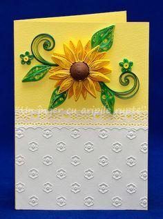 Felicitare Floarea Soarelui