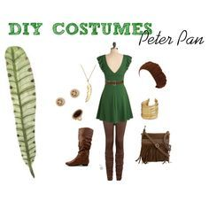"""""""DIY Costumes: Peter Pan"""" by ckcporter on Polyvore"""