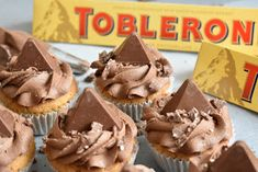 Toblerone Cake, Best Food Ever, Cupcake Recipes, Truffles, Fudge, Cooking Ideas, Food Ideas, Banana Bread, Wedding Cakes