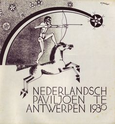 Wendingen, January 1930, lithograph after a design by W. Roozendaal