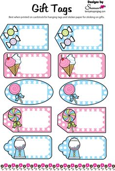 www.familyshoppingbag.com img view-print.php?img=Gift_Tags_017738.gif Printable Planner Stickers, Printable Labels, Free Printables, Page Borders Design, Border Design, School Labels, Classroom Labels, Powerpoint Background Design, Borders And Frames