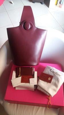 8eb30394a1 Cartier borsa secchiello a spalla e porta carte/monete | Bags and ...