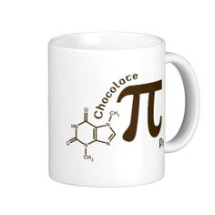 Pi Day Chocolate Pi Mug