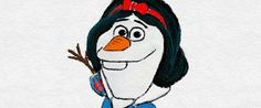 'Frozen' Snowman Olaf Gets The Royal Treatment With A Disney Princess Makeover Frozen Snowman, Olaf Frozen, Disney Frozen, Disney Olaf, Olaf Funny, Funny Frozen Memes, Disney Toys, Disney Art, Disney Pixar