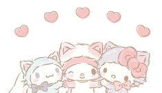 Sanrio Wallpaper, Hello Kitty Wallpaper, Cute Disney Wallpaper, Kawaii Wallpaper, Cute Wallpaper Backgrounds, Wallpaper Iphone Cute, Pretty Wallpapers, Cute Anime Profile Pictures, Cartoon Profile Pics