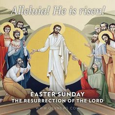 We are Easter people and Alleluia is our song!