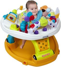 Kolcraft Baby Sit and Step 2-In-1 Activity Center, Jamboree $99.00