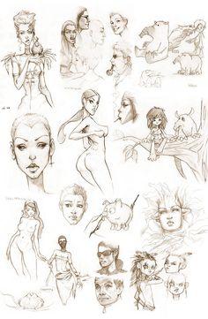sketchbook I  by `lolita-art