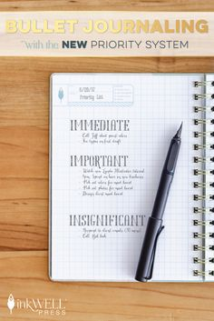 Productivity Paradox, bullet journaling with the new priority system, schedule in your priorities and focus on goals. Learn How To boost your productivity and get more done here! Bullet Journal Font, Bullet Journal Hacks, Bullet Journals, Planning And Organizing, Planner Organization, Planners, Focus On Goals, Journal Inspiration, Journal Ideas