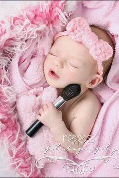 Baby makeup :)