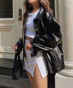 Look Fashion, Winter Fashion, Womens Fashion, High Fashion Style, High Fashion Outfits, Fashion Blogger Style, Trendy Fashion, Spring Fashion, Fashion Shoes