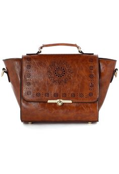 Dandelion Cutout Satchel Bag