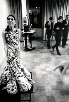 I like the dress. I love the spirit. Warhol's Factory.