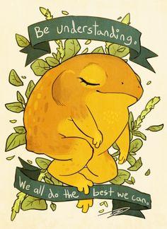 Be Understanding Golden Toad by reapersun