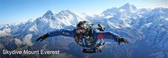 High Altitude Skydiving Mount Everest #livethefuel
