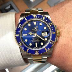 Rolex Submariner Ref. 116613LB | #WRISTPORN by @TheWristWatcher_ | www.wristporn.com by wristporn