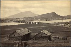 Photo taken during the Civil War of Chattanooga, in South East Tenn. photo from NARA....
