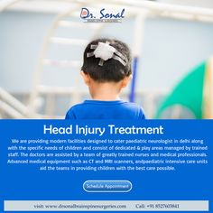 Sonal Brain & Spine Surgeries provides complete brain tumor surgery in delhi; consult now best spine surgeon in delhi for better treatment. Head Injury Treatment, Pediatric Neurologist, Spine Surgery, Best Hospitals, Brain Tumor, Doctor In, Pediatrics, Back Pain, A Team
