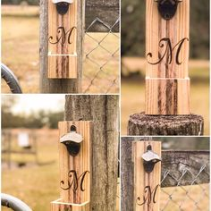 Our first monogrammed bottle opener!  Don't forget to ask about custom monograms!  http://ift.tt/2gGRjYi  #redwolf #rusticdecor #recycledwood #countrydecor #farmhousedecor #wooden #woodworking #handmade #rustic #rusticlivin #repurposed #homedecor #realflorida #palletwood #weddingdecor #oldwood #recycled  #rusticdecoration #oldwood #giftideas #giftsforhim #giftsforher #wooddesign #wood #beer