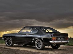 The classic Ford Capri #CarFlash