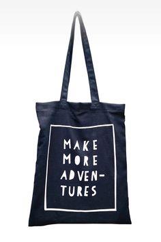 tote bag | cotton bag | make more adventures
