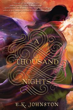 #CoverReveal: A Thousand Nights - E.K. Johnston, pb redesign