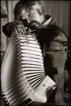 To be honest with you, I have never seen a person play accordion quite like Max Baloian. And coming from a person, such as myself, who lives in New Orleans, where every fifth musician plays an accordion, it's not unlike comparing sex to making love: both are wonderful expressions of the human psycho-emotional-spiritual-physical experience, but the latter is, quite frankly, gorgeous to behold and be captivated by. ••• To purchase this photograph, please visit www.culturesubculture.smugmug.com