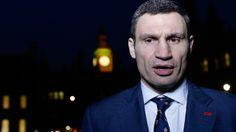 Ukraine Vitali Klitschko pulls out of election, backs 'Chocolate King'