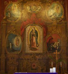 Inside of Santo Nino de Atocha, Santa Fe, New Mexico